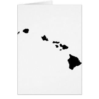 Hawaiian Islands Greeting Card