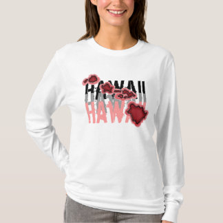 Hawaiian islands ladies hoodie