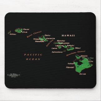 Hawaiian Islands Mousepad Mouse Pad