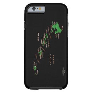 Hawaiian Islands Phone case Tough iPhone 6 Case
