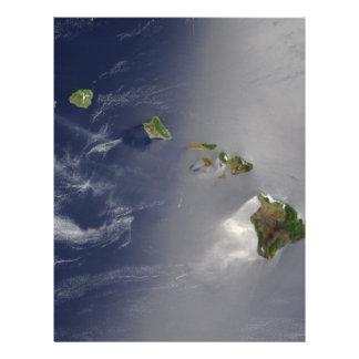 Hawaiian Islands Satellite View Custom Flyer
