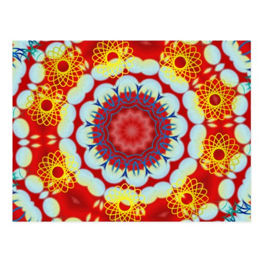 Hawaiian Kaleidoscope Postcard
