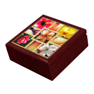 Hawaiian Keepsake Gift Box