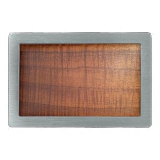 Hawaiian Koa Wood Look Belt Buckle