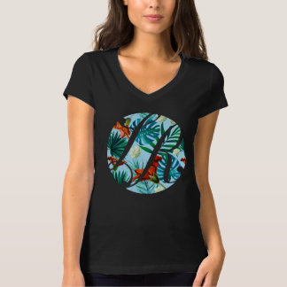 Hawaiian La Rosa Realty Logo on Black T-Shirt