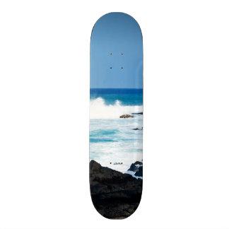 Hawaiian Lava Ocean Coast Line Hawaii Waves 20.6 Cm Skateboard Deck