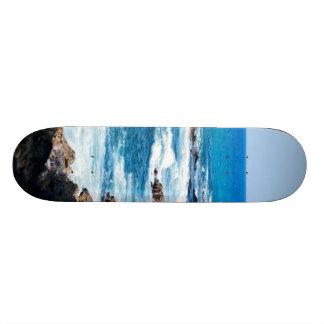 Hawaiian Lava Ocean Coast Line Hawaii Waves Skateboard Decks