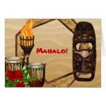 Hawaiian Luau Thank You Cards