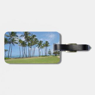 Hawaiian Luggage Tag