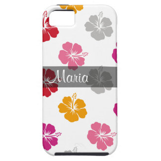 Hawaiian Monogram iPhone 5 Case
