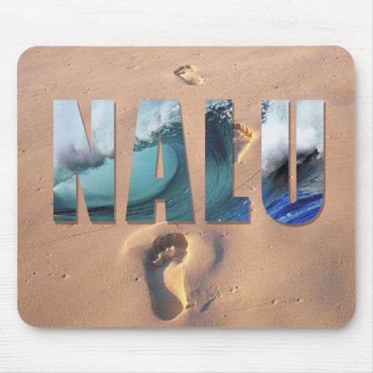 """Hawaiian """"Nalu"""" (Surf) Mousepad"""