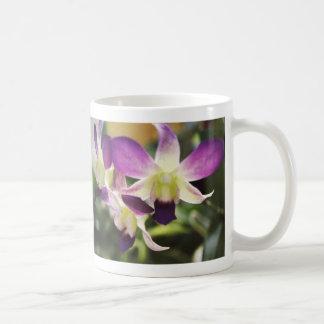 hawaiian orchid coffee mug