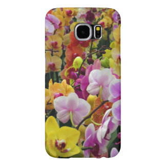Hawaiian Orchids Samsung Galaxy S6 Cases