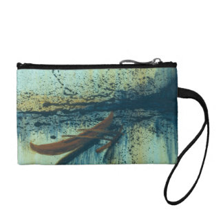 Hawaiian Outrigger in Storm Coin Wallet
