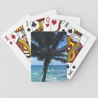 Hawaiian Palm Playing Cards