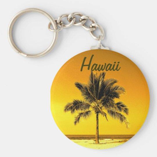 Hawaiian Palm Tree keychain