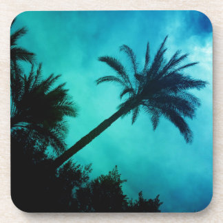 Hawaiian Palm Trees Drink Coaster