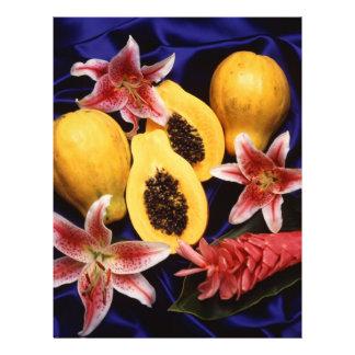 Hawaiian papayas 21.5 cm x 28 cm flyer