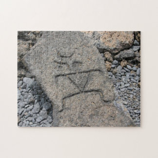 Hawaiian Petroglyph Jigsaw Puzzle