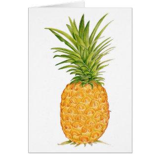 Hawaiian Pineapple Cards
