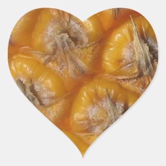 Hawaiian Pineapple Heart Sticker