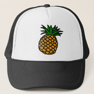 Hawaiian Pineapple Trucker Hat