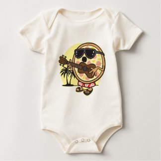 Hawaiian Pizza Baby Bodysuit