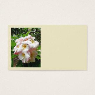 Hawaiian Plumeria Business Card