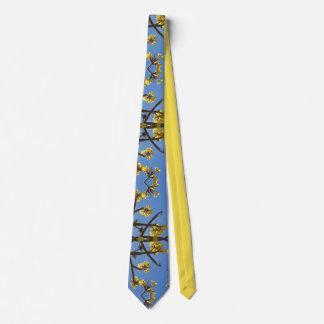 Hawaiian Plumeria Tie