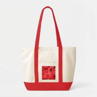 Hawaiian Poinsettias in the rain Impulse Tote Bag