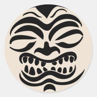 Hawaiian Pride Classic Round Sticker