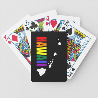 Hawaiian Rainbow 3 Bicycle Playing Cards