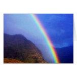 Hawaiian Rainbow Card