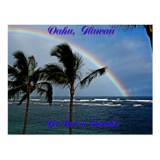 Hawaiian Rainbow Collection - Customised Postcard
