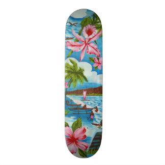 Hawaiian Scenes Skateboard Decks