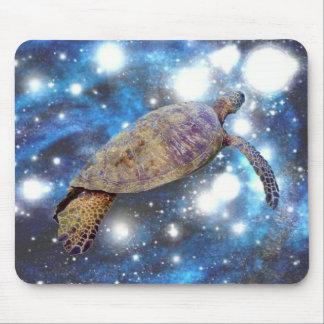 Hawaiian sea turtle art prints mouse mat