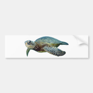 Hawaiian Sea Turtle Bumper Sticker