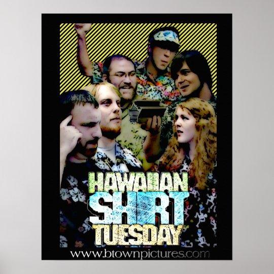 Hawaiian Shirt Tuesday Poster