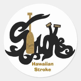 Hawaiian Stroke sticker