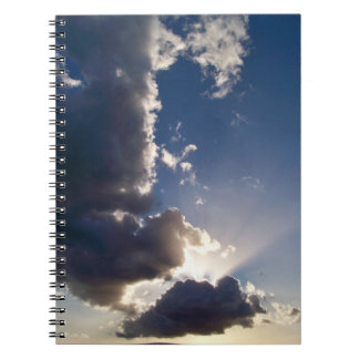 Hawaiian Sun Rays Notebook