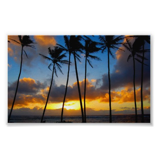 Hawaiian Sunrise Poster