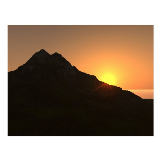 """Hawaiian Sunset"" Postcard"