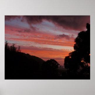 Hawaiian Sunset Posters