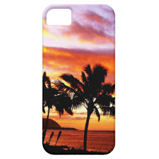 Hawaiian Sunset print Case For The iPhone 5