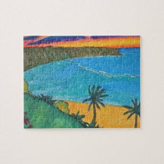 Hawaiian Sunset Puzzle