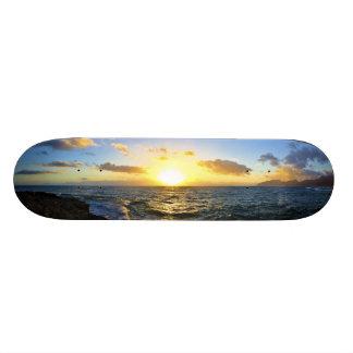 Hawaiian Sunset Skateboard Deck