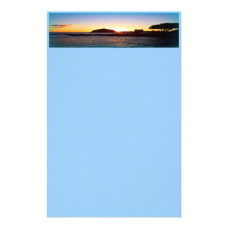 Hawaiian sunset Stationery