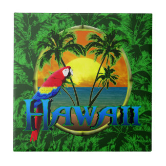 Hawaiian Sunset Tile