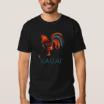 Hawaiian T-shirt Kauai Wild Rooster