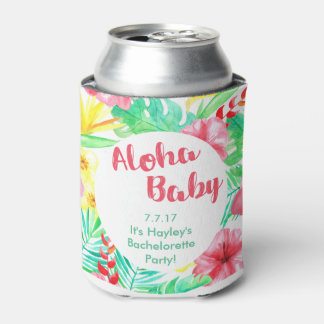 Hawaiian Themed Bachelorette Drink Holder